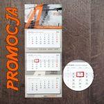 Kalendarze trójdzielne 2017 - PAKIET PROMOCYJNY