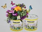 Kwiaty w puszce reklamowe