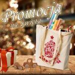 Świąteczna torba na zakupy - PAKIET PROMOCYJNY